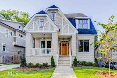 Virginia Highland Single Family Home For Sale: 985 Drewry
