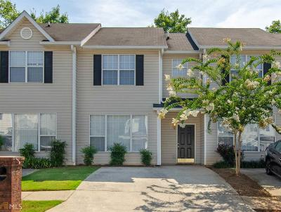 Coweta County Condo/Townhouse For Sale: 463 Rosewood Ln