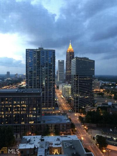 Peachtree Towers Condo/Townhouse Under Contract: 300 W Peachtree St #23B