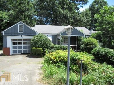 Marietta Single Family Home Under Contract: 1554 Cloverdale