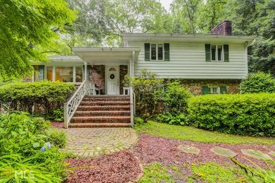 Druid Hills Single Family Home Under Contract: 1147 Clifton Rd