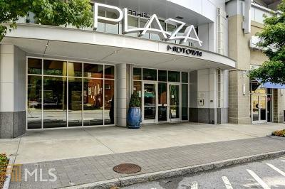 Plaza Midtown Condo/Townhouse For Sale: 44 Peachtree Pl #1929