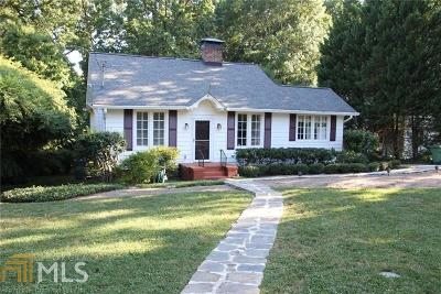 Piedmont Heights Single Family Home Under Contract: 549 Rock Springs Rd