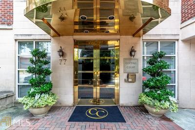 Cotting Court Condo/Townhouse For Sale: 77 Peachtree Pl #410