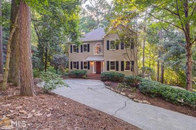 Kennesaw Single Family Home For Sale: 3188 Country Club Ct