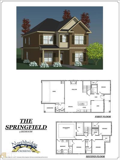 Stockbridge Single Family Home Sold: 644 Armitage Way #115