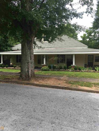 Conyers Single Family Home Sold: 1724 Hill St