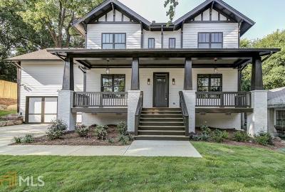 Atlanta Single Family Home Sold: 1808 Defoor Ave