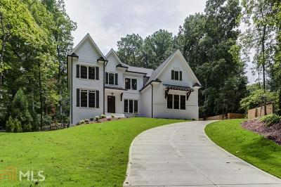 Brookhaven GA Single Family Home New: $1,424,777
