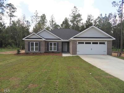 Statesboro Single Family Home For Sale: 133 Weatherstone Way #34