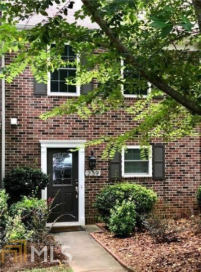 Roswell Condo/Townhouse Under Contract: 239 Quail Run