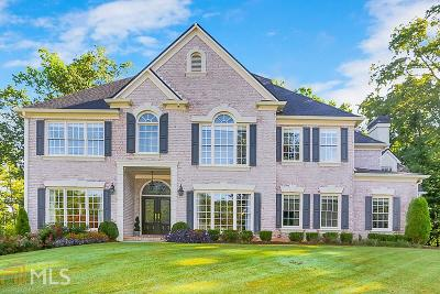 Roswell Single Family Home Under Contract: 140 Harper Cove Dr