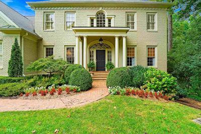Atlanta Single Family Home Sold: 4475 Club Dr
