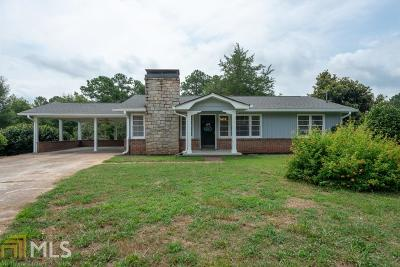 Rockdale County Single Family Home For Sale: 4166 SW Highway 138