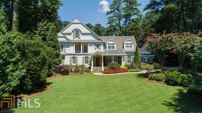 Roswell, Sandy Springs Single Family Home For Sale: 5290 London Dr