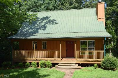 Dahlonega Single Family Home Under Contract: 629 Grindle Bridge Rd #5