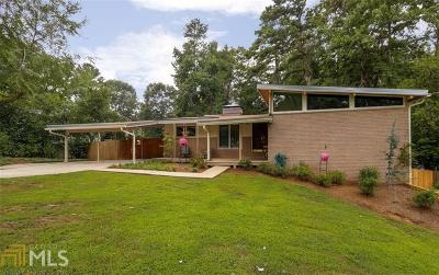 Chamblee Single Family Home Under Contract: 3114 Northbrook Dr