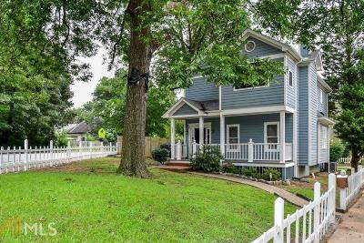 Grant Park Single Family Home For Sale: 580 Hill St