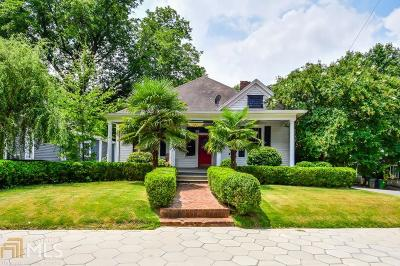 Grant Park Single Family Home Under Contract: 455 Grant St