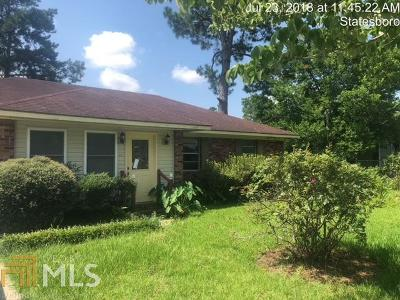 Statesboro GA Single Family Home Under Contract: $35,000
