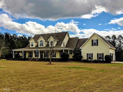 Statesboro Single Family Home For Sale: 128 Isaac Akins Rd