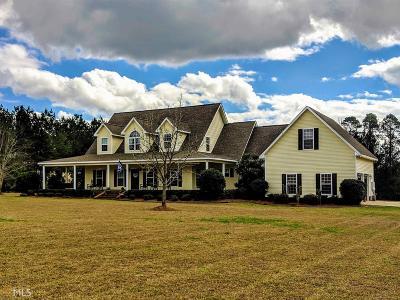 Statesboro Single Family Home For Sale: 128 Isaac Akins Rd