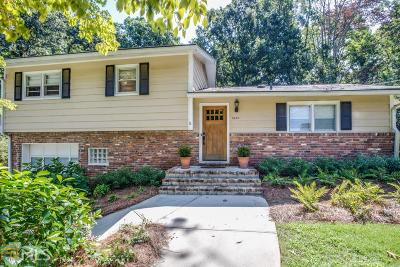 Chamblee Single Family Home Under Contract: 3649 London Rd