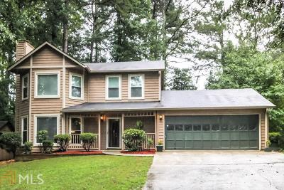 Stone Mountain Single Family Home Back On Market: 4801 Mainstreet Park Dr