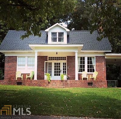 Haddock, Milledgeville, Sparta Single Family Home For Sale: 431 W McIntosh St #4