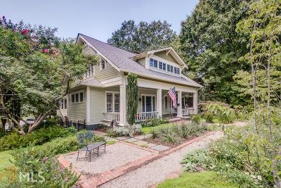 Decatur Single Family Home Under Contract: 506 Clairemont Ave
