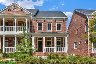 Decatur Condo/Townhouse Under Contract: 623 Brennan Dr #6