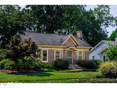 Decatur Single Family Home Under Contract: 203 Wilton Dr