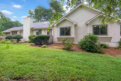 Peachtree Corners Single Family Home Under Contract: 3456 Scotts Mill Run