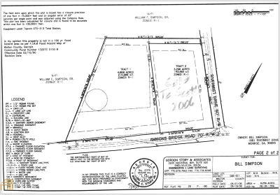 Monroe Residential Lots & Land For Sale: Ammons Bridge Rd