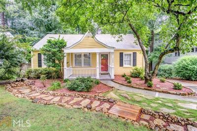 Decatur Single Family Home Under Contract: 124 Candler Dr
