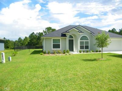 Kingsland GA Single Family Home New: $187,000