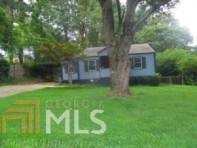 Atlanta Single Family Home Back On Market: 857 SE Norwood Rd