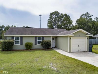 St. Marys Single Family Home Under Contract: 13 Greyhawk Ct