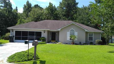 Kingsland GA Single Family Home Under Contract: $176,000