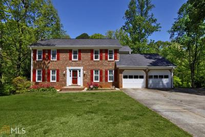 Snellville Single Family Home Under Contract: 4362 Vineyard Trl