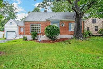 College Park Single Family Home For Sale: 2323 Ridgeway Ave