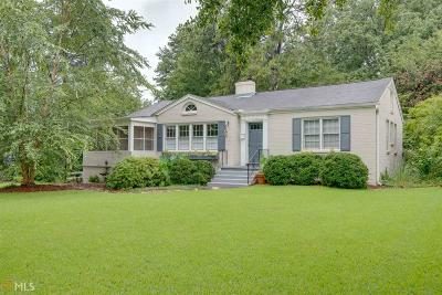 Avondale Estates Single Family Home Under Contract: 11 Lakeshore