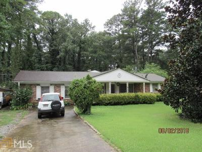 Norcross Single Family Home Under Contract: 1267 Gale Dr