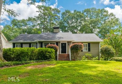 Atlanta Single Family Home New: 2171 Brookview Dr