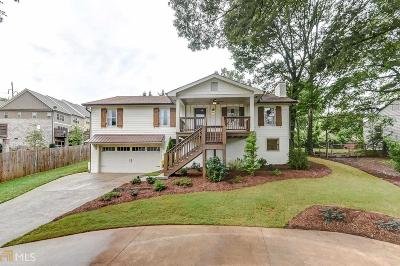 Smyrna Single Family Home For Sale: 2538 St Charles Dr