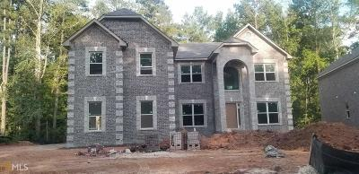 Conyers Single Family Home New: 3592 Brook Park Trl