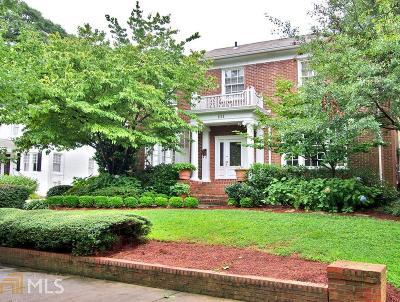 Atlanta Single Family Home New: 1111 Saint Charles Place NE