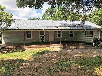 Butts County Single Family Home Under Contract: 272 Dave Bailey Rd