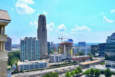 Meridian Buckhead Condo/Townhouse For Sale: 3334 Peachtree Rd #108