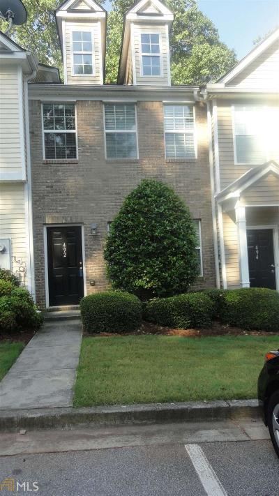 Lilburn Condo/Townhouse Under Contract: 492 Berckman Dr